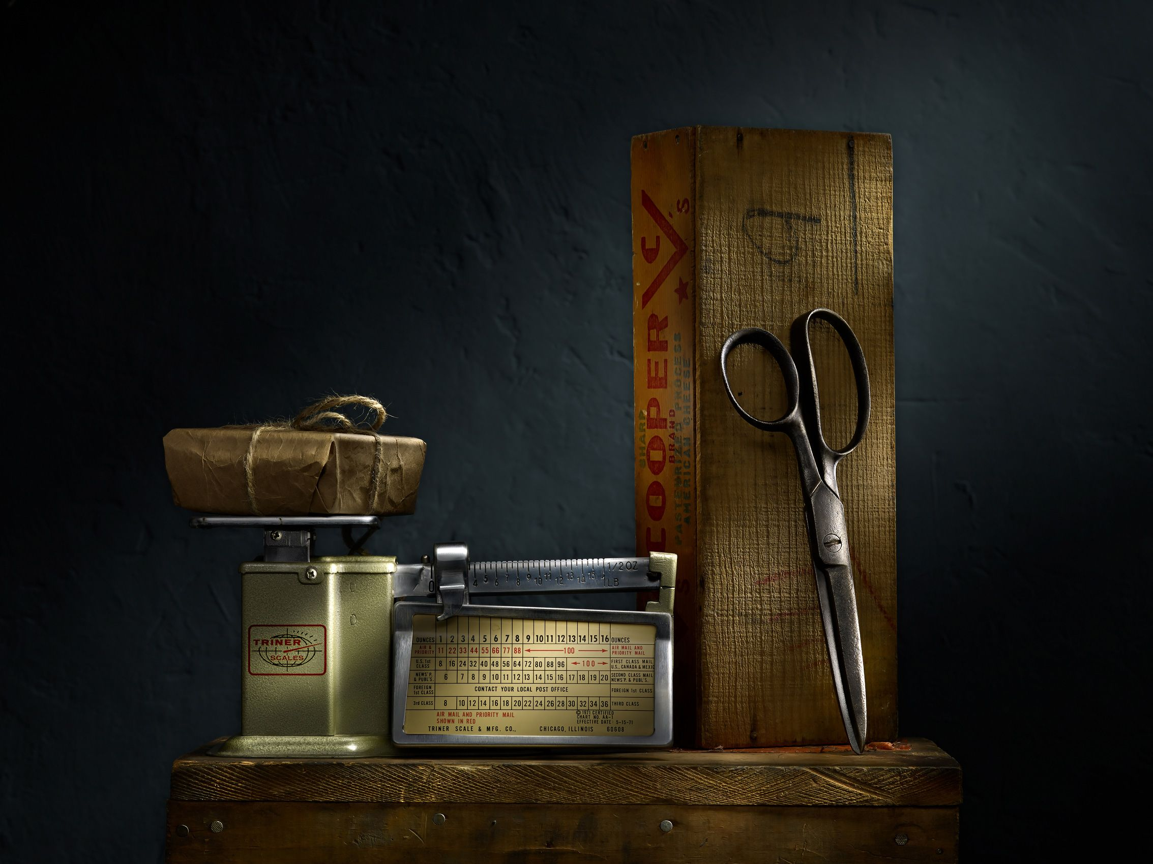 Scale and Scissors by Harold Ross