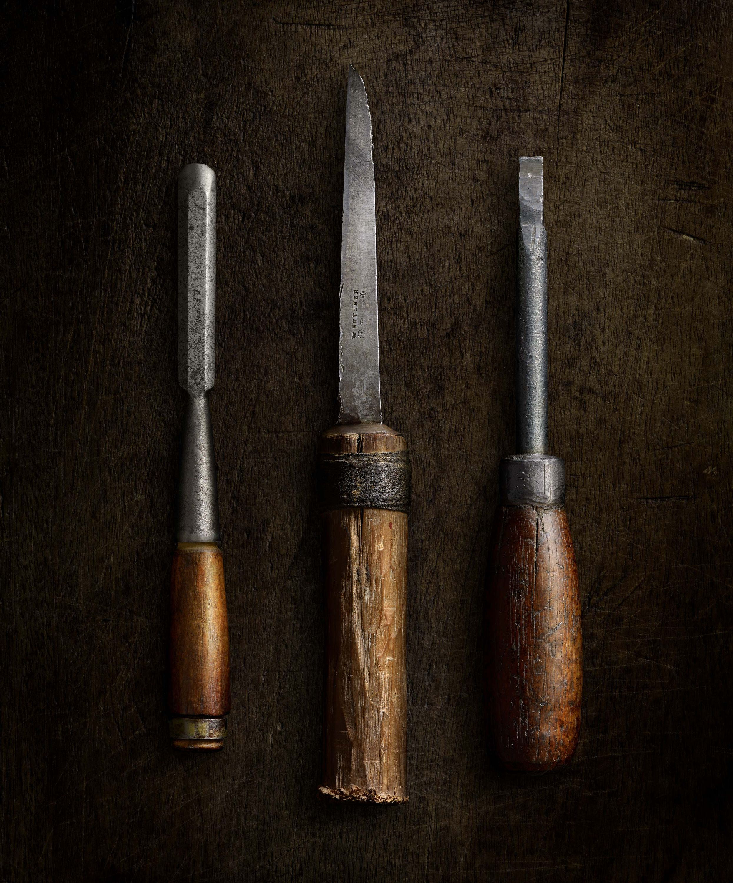 Chisels and Screwdriver