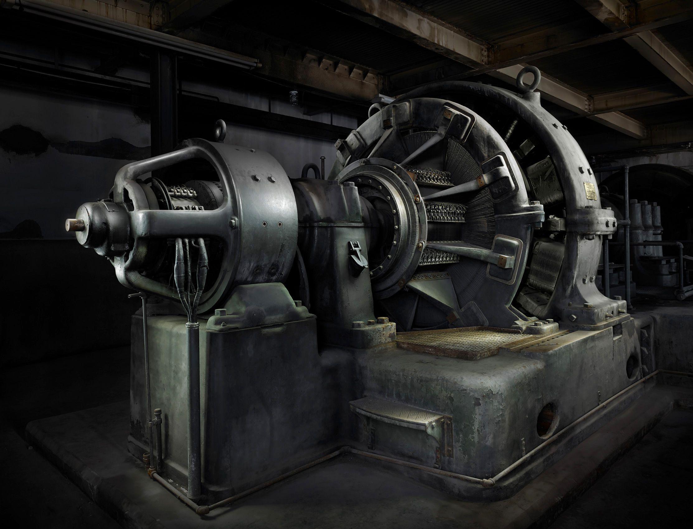 Anselmo Generator Butte Montana by Harold Ross