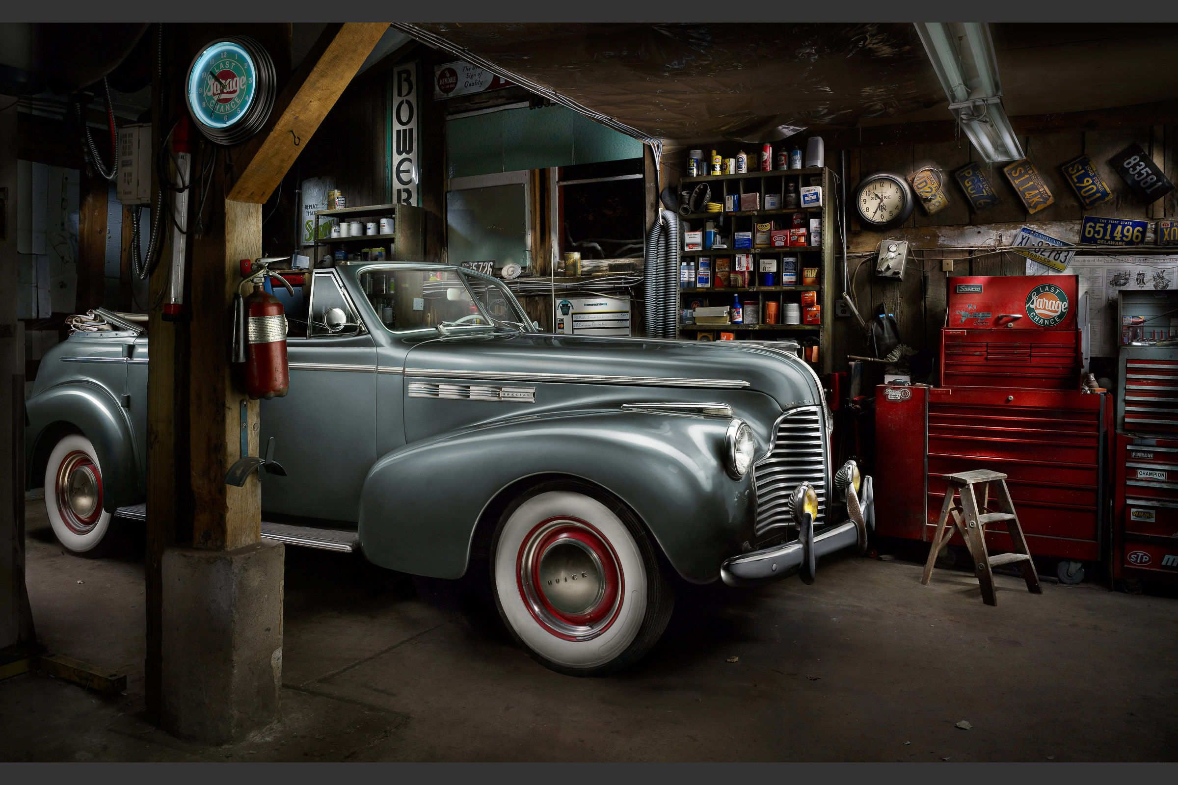 Last Chance Garage by Harold Ross