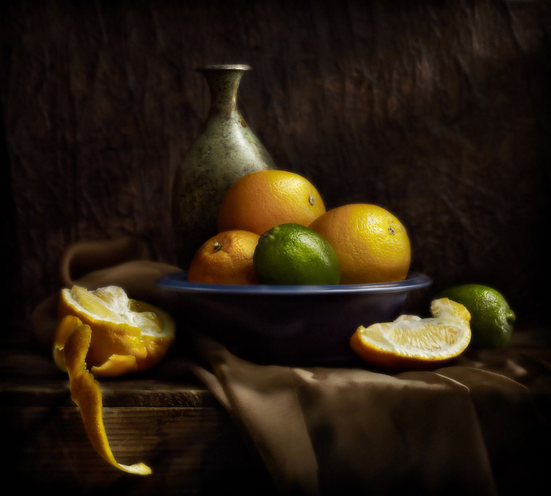 Still Life With Oranges by Harold Ross