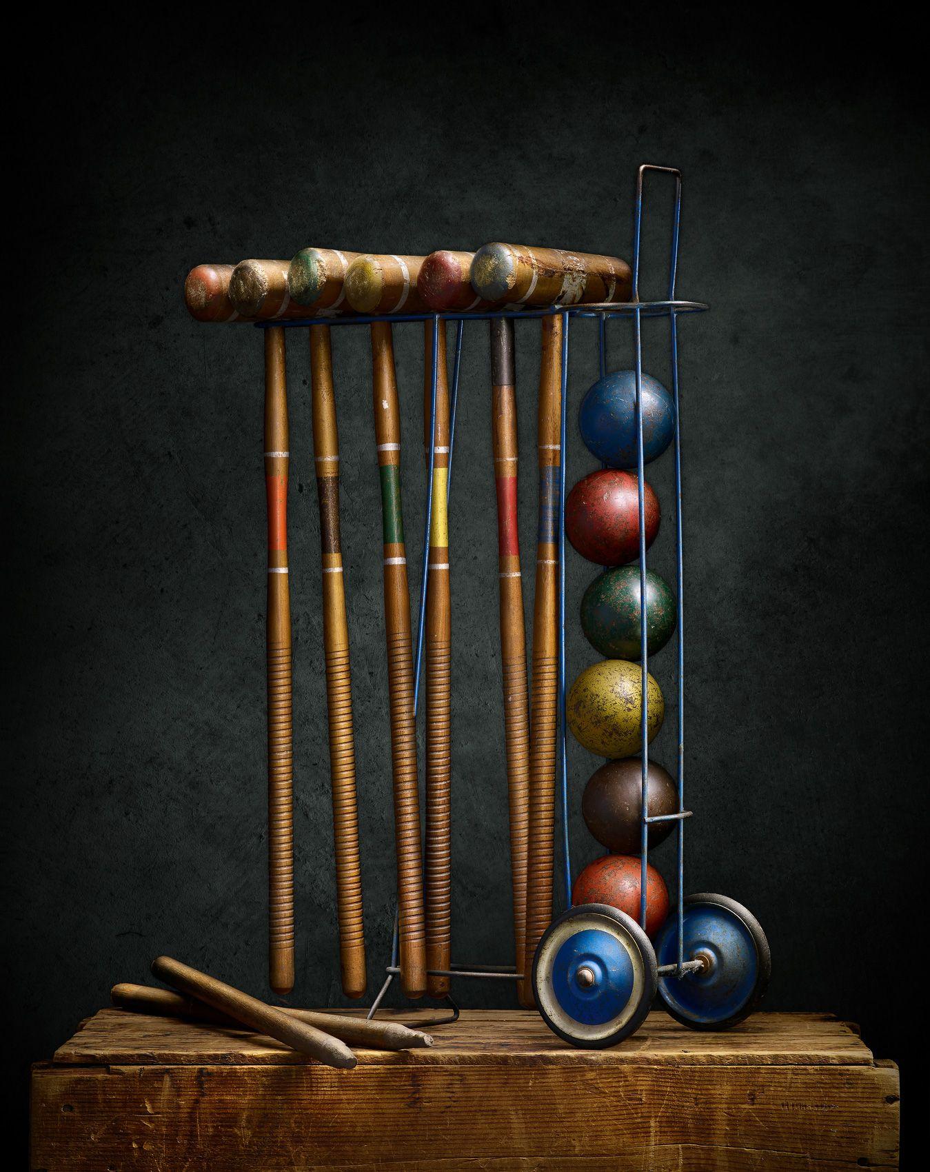 Croquet Set by Harold Ross