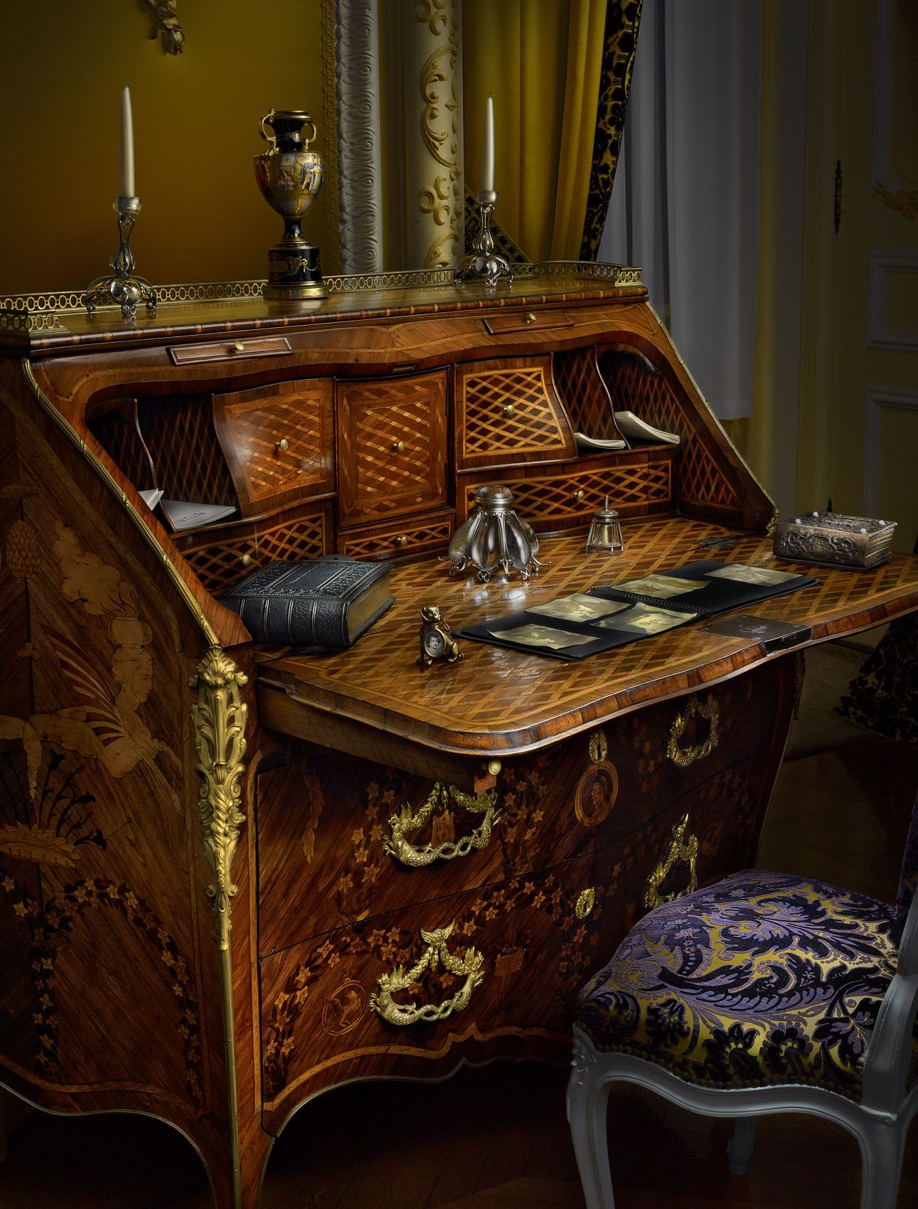 Biltmore House Mrs. Vanderbilt's Desk by Harold Ross