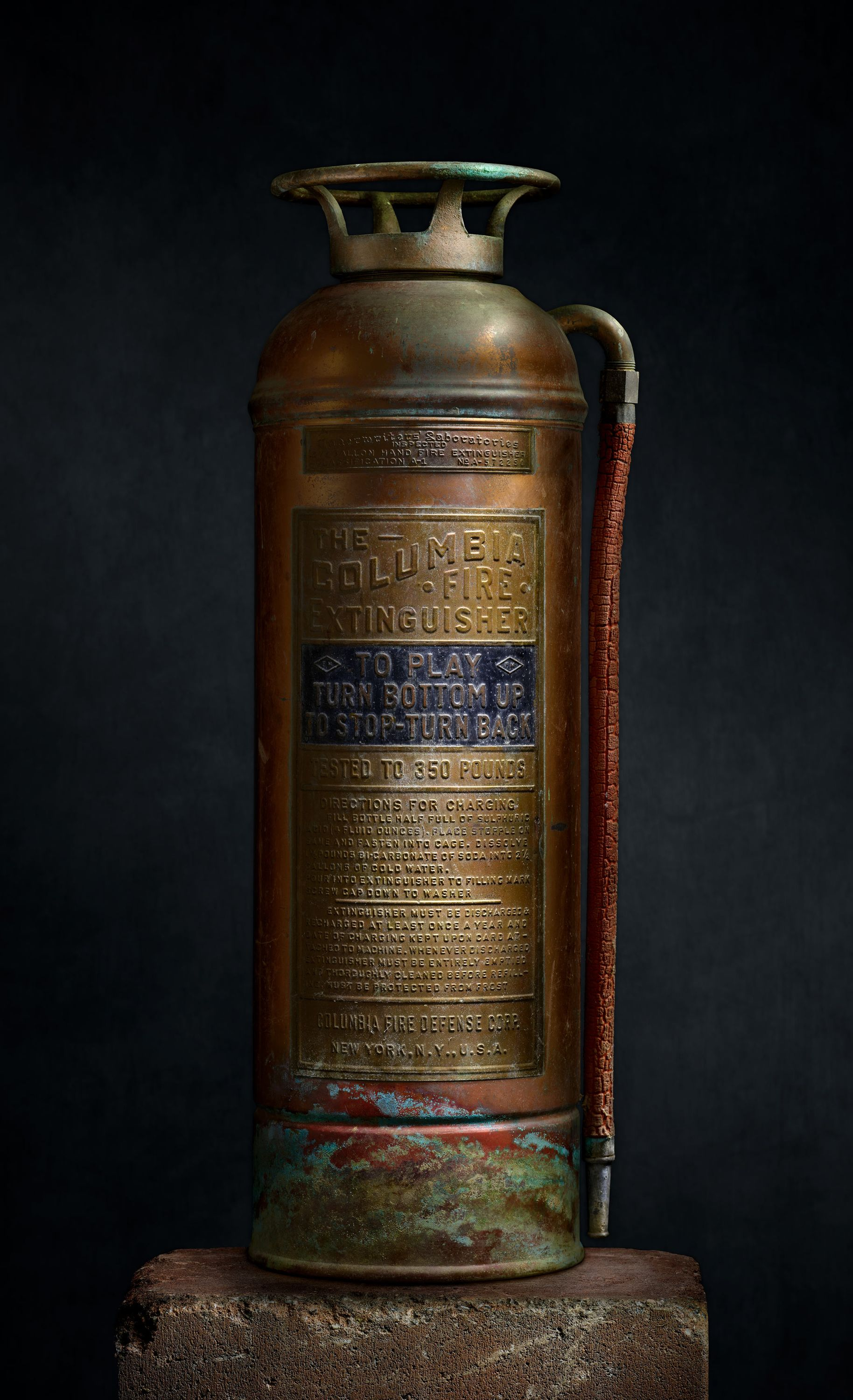 The Columbia Fire Extinguisher