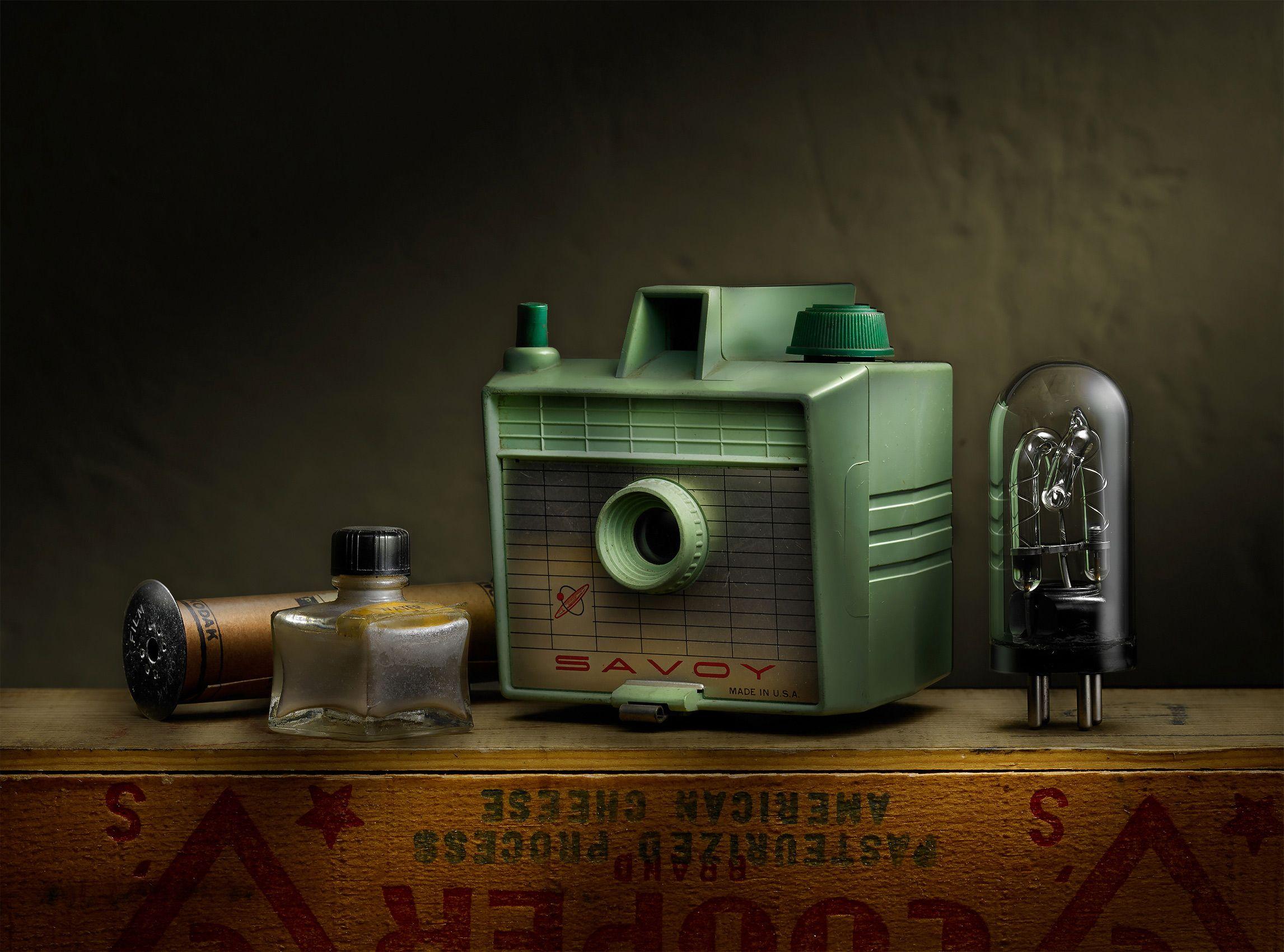 Green Camera by Harold Ross
