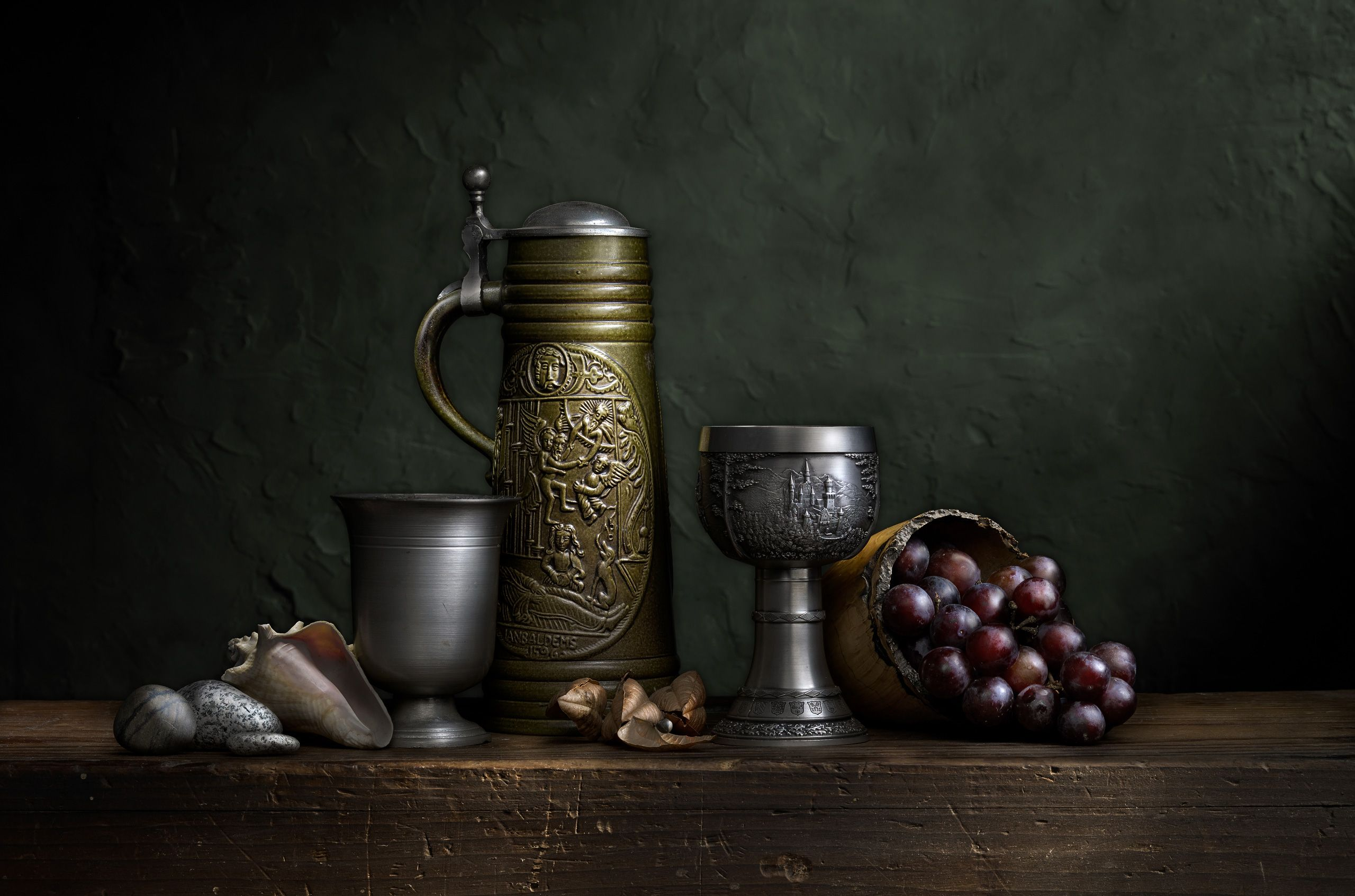 Still Life with Green Stein by Harold Ross