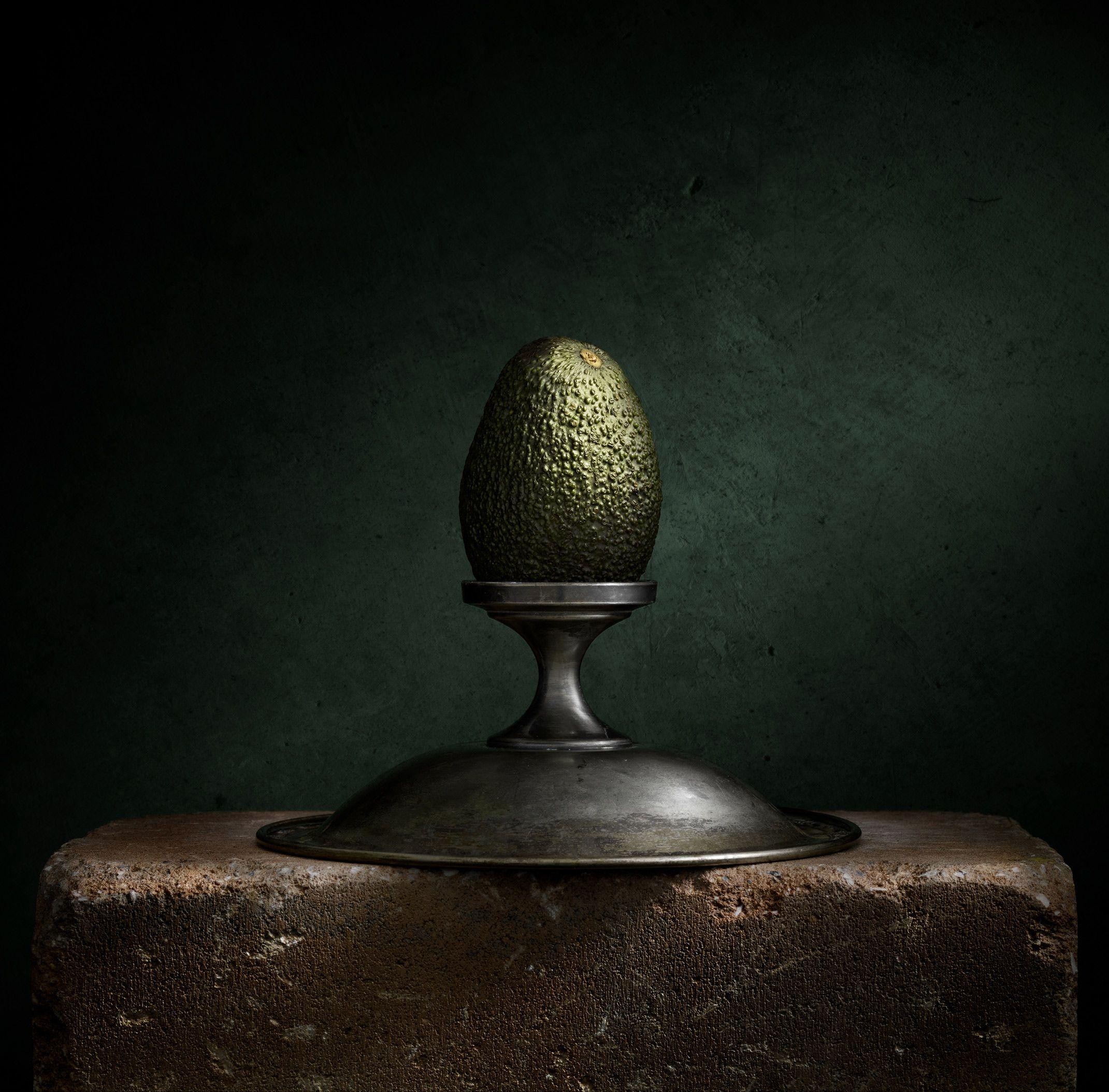 Still Life with Avocado by Harold Ross