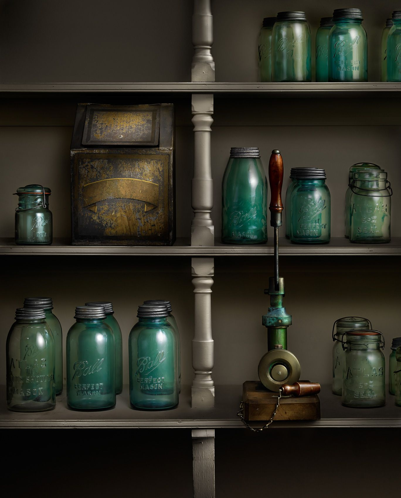 Biltmore House Canning Pantry by Harold Ross