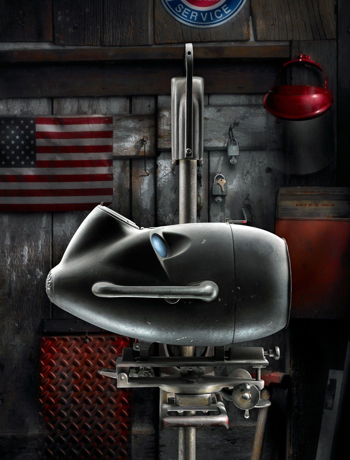 Headlight Alignment Machine by Harold Ross