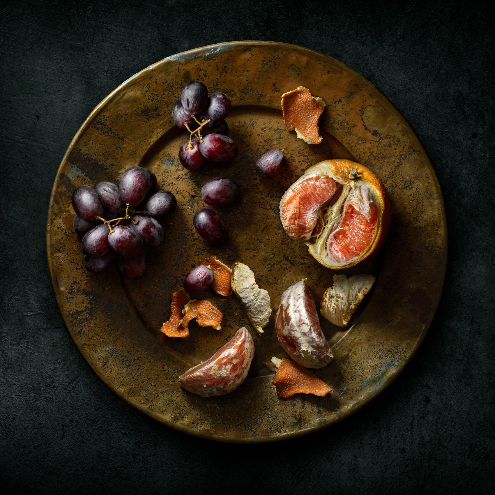 Blood Oranges and Grapes