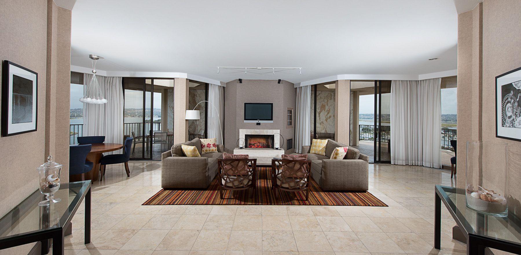 Hyatt Islandia Penthouse Interior