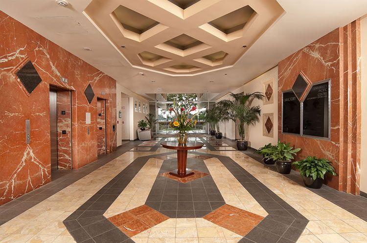 UTC Lobby interior