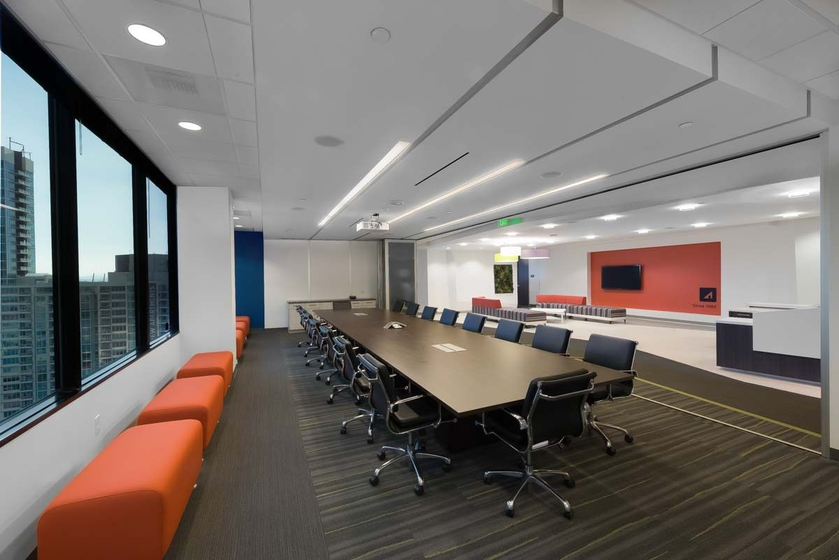 Downtown conference room