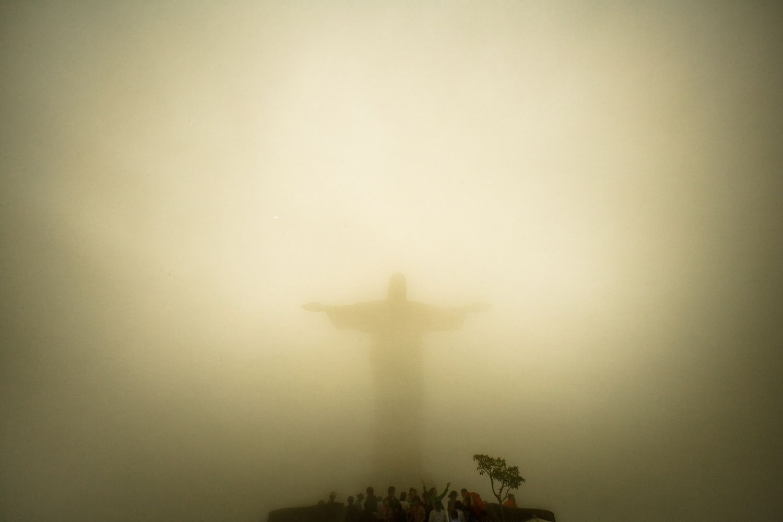 Redeemer in Rain