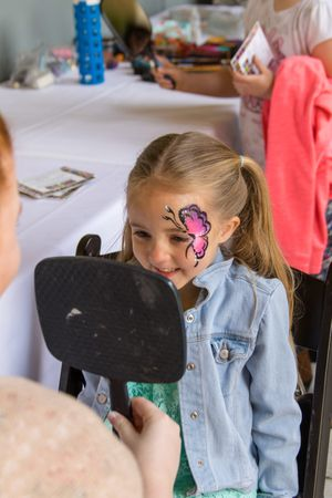 Zermatt_Spring_Extravaganza_2018_Midway_Utah_Children's_Activities_Face_Painting_Young_Girl_Butterfly.jpg