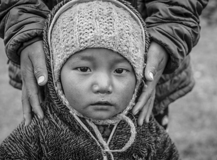 Changpa Nomad Child