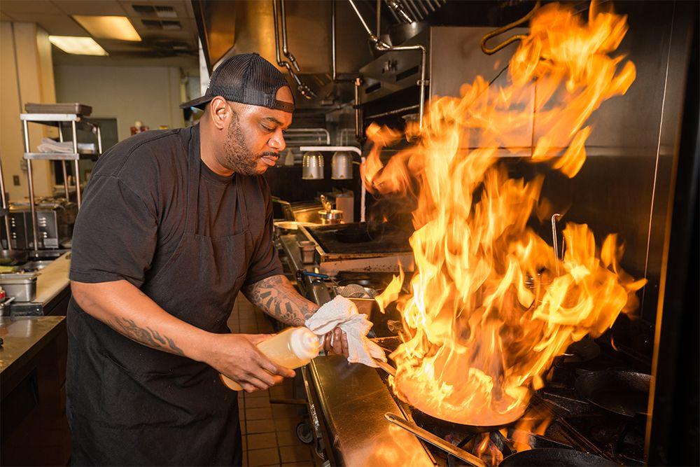 Chef Raymell Jenkins
