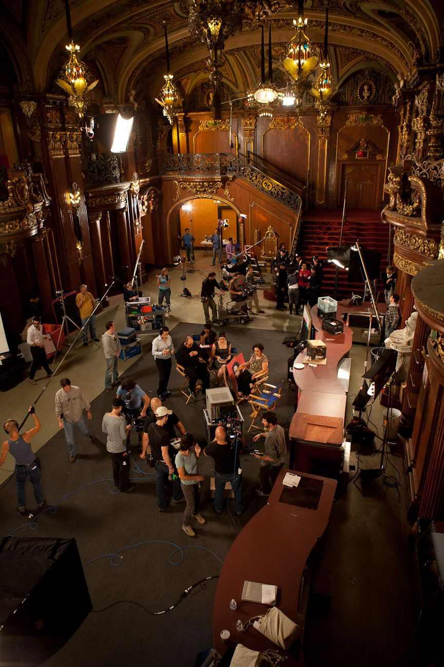 on the set of Fugly! at The Paradise Theater