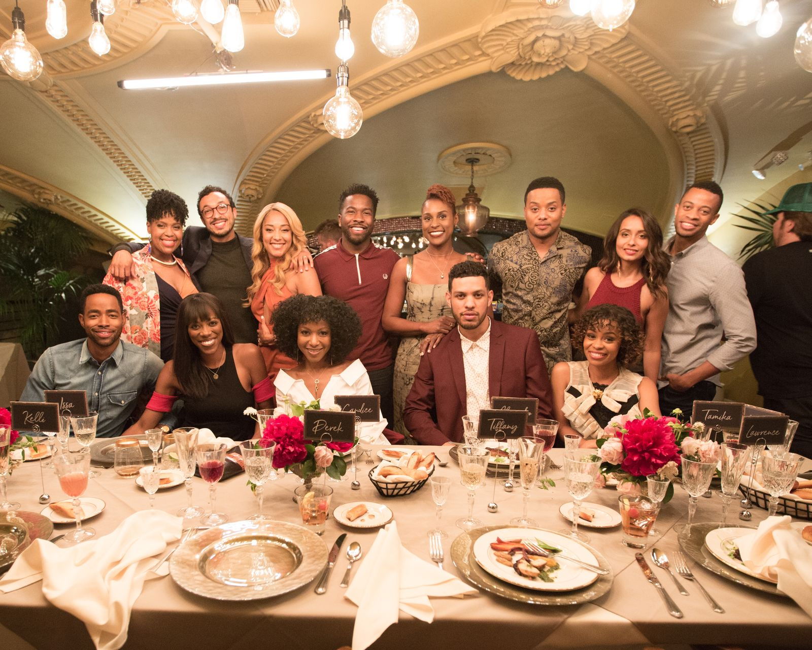 cast photo Insecure S2