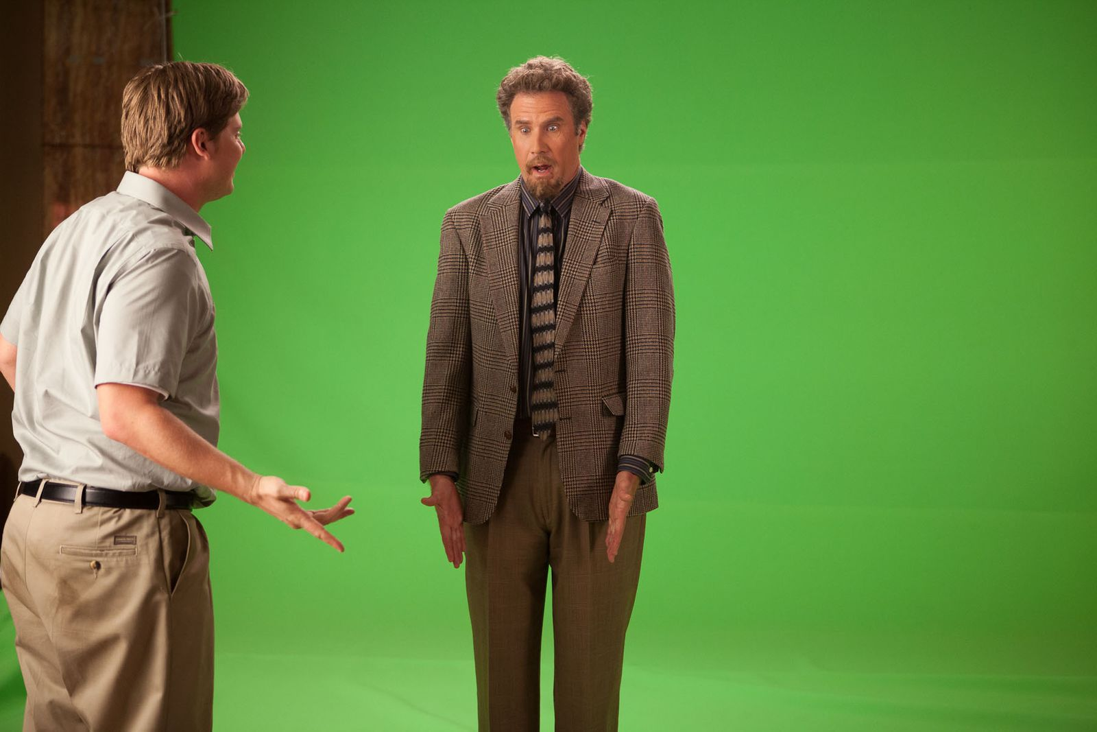 Will Ferrell +  Tim Heidecker on Tim + Eric's Billion $ Movie