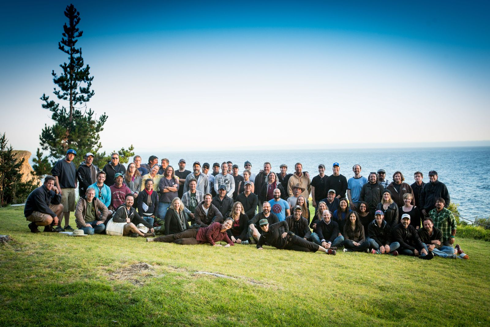 Mad Men Crew Photo in Big Sur