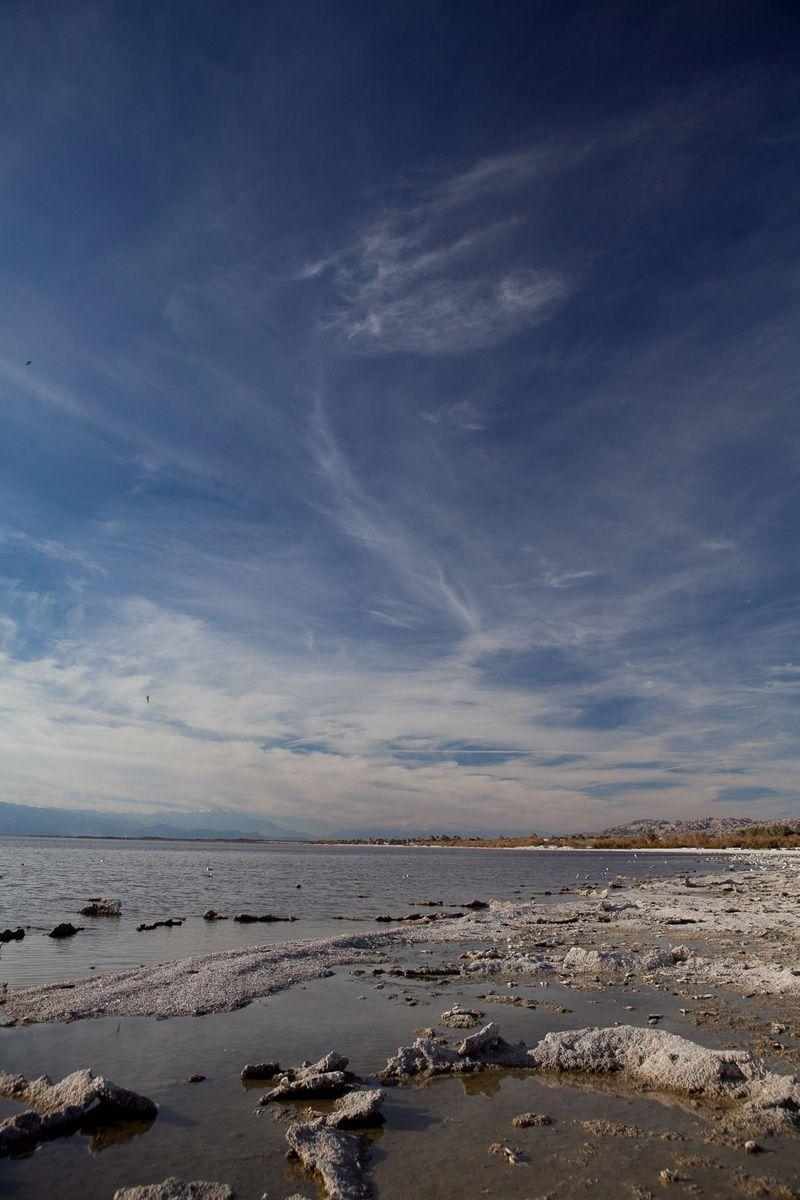 Wispy CloudsSalton SeaCalifornia, US