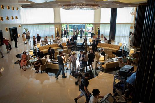 Magic City hotel lobby