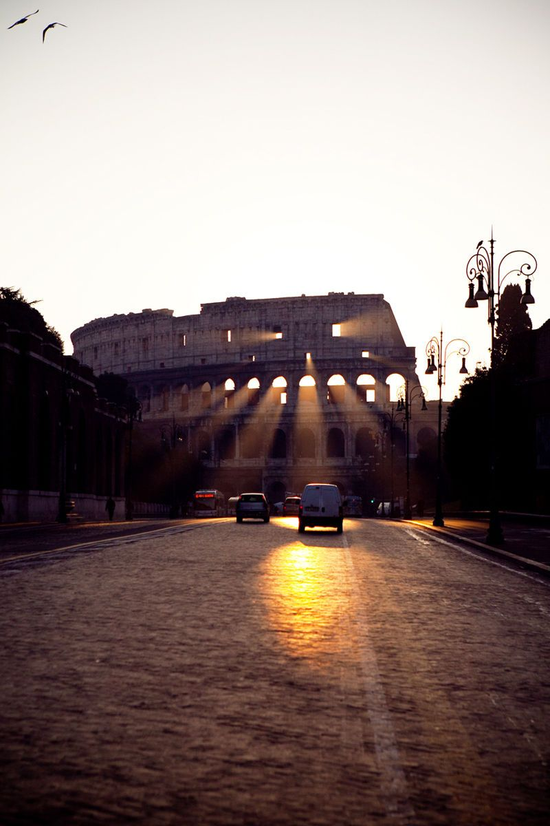Roman Sunrise - Colosseum