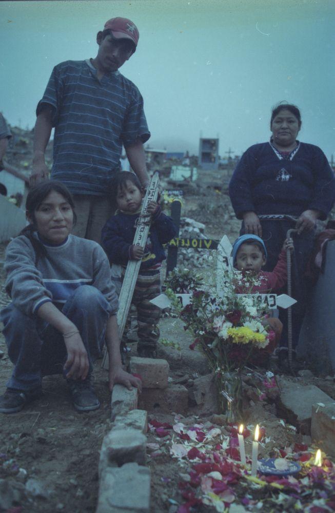 Day of the Dead Family Portrait, Lima, Peru