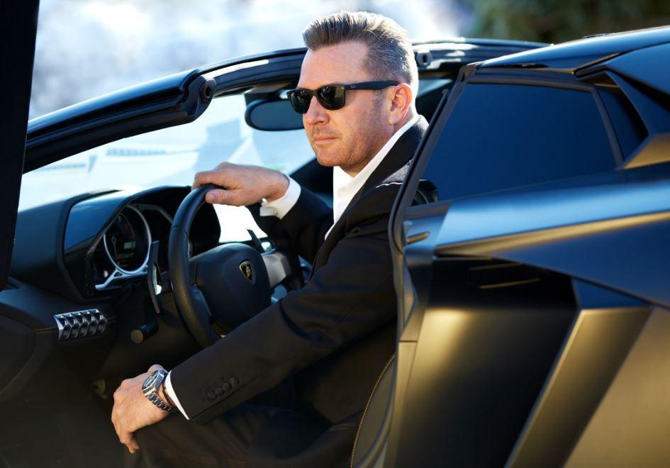Joel man in car.JPG