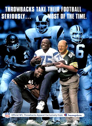 Hall of Famers: Gale Sayers, Deacon Jones, and Ray Nitzke