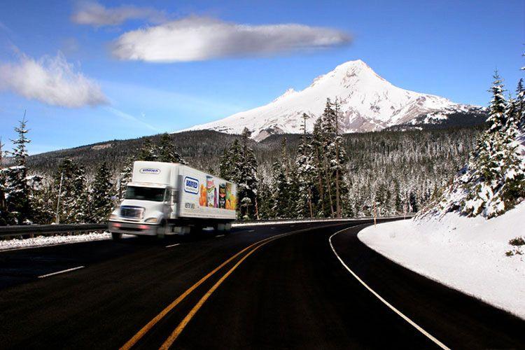 Annual Report - truck  Mt. Hood, Oregon