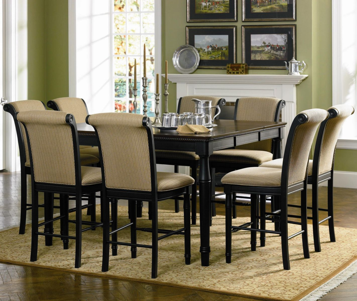 Coaster Dining Room Set Price Upon Request Call (631) 742-1351 for Best Price Guarantee Dinette Sets New York , Dinette Sets Long Island , Dining Room Sets New York , Dining Room Sets Long Island, Dining Room Chairs Long Island The Edgewood collection has