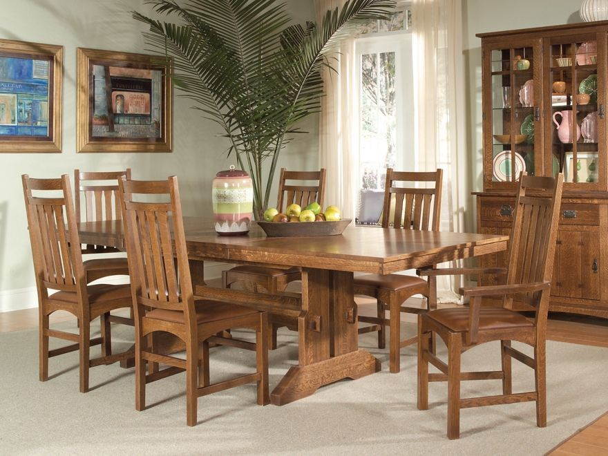 Intercon Dining Room Set  Price Upon RequestCall (631) 742-1351 for Best Price Guarantee Dinette Sets New York , Dinette Sets Long Island , Dining Room Sets New York , Dining Room Sets Long Island, Dining Room Chairs Long Island American Craftsman Dining R