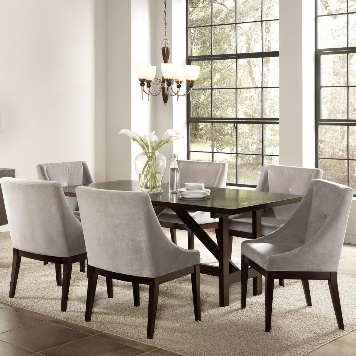 Coaster Dining Room Set Price Upon Request Call (631) 742-1351 for Best Price Guarantee Dinette Sets New York , Dinette Sets Long Island , Dining Room Sets New York , Dining Room Sets Long Island, Dining Room Chairs Long Island Complete the dining space in