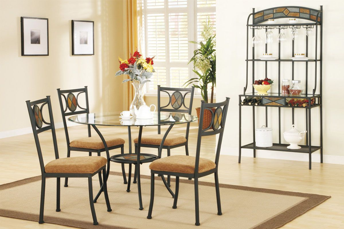 Poundex Dining Room Set  Price Upon RequestCall (631) 742-1351 for Best Price Guarantee F2003