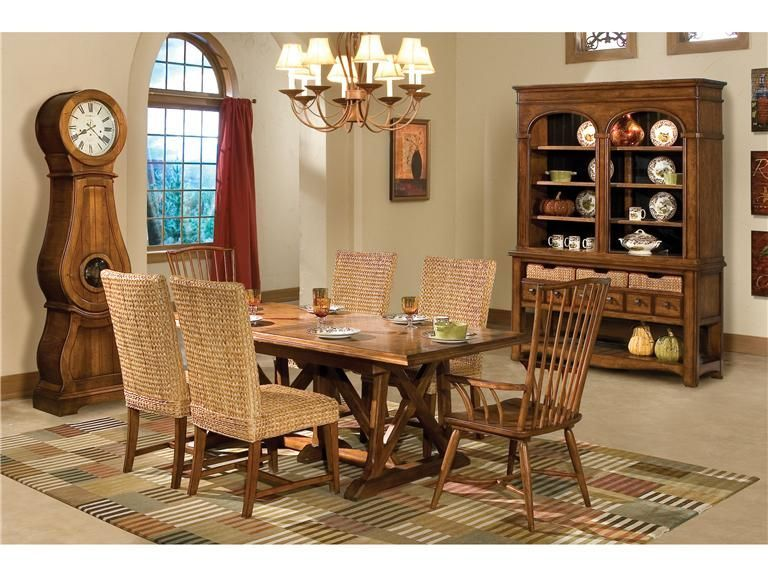 Howard Miller Dining Room Set  Price Upon Request   Call (631) 742-1351 for Best Price Guarantee