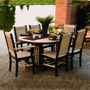 Garden Mission Collection Sunflower Table - Dining Height