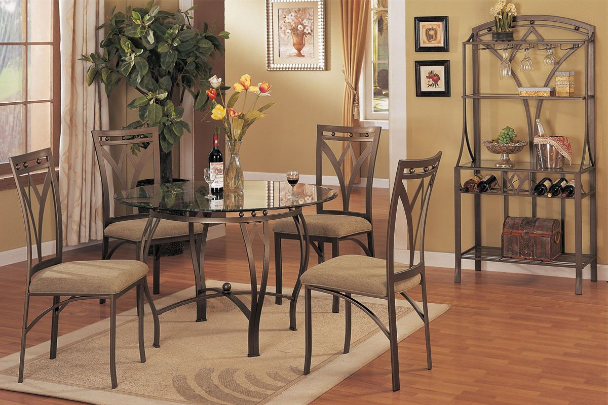 Poundex Dining Room Set Price Upon RequestCall (631) 742-1351 for Best Price Guarantee