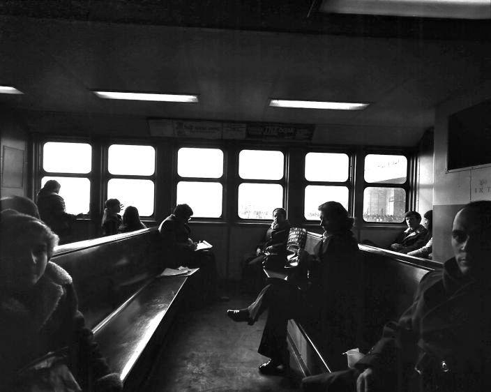 Staten Island ferry, New York, 1974
