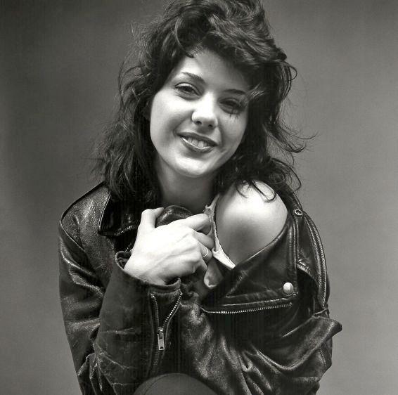 Marissa Tomei, actress, New York, 1989