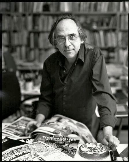 Art Speigelman, cartoonist, New York, 2002