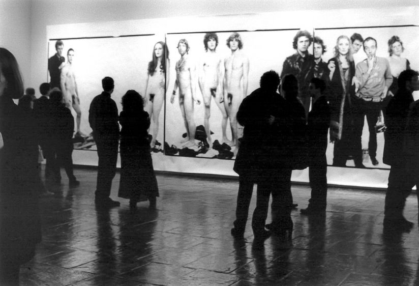 Avedon Opening, New York, 1994
