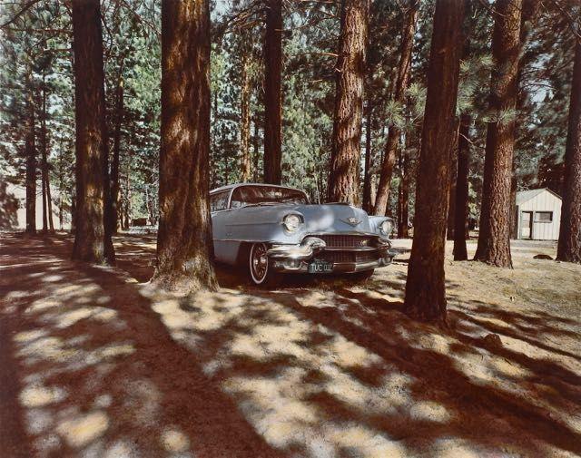 1956 Cadillac, Lake Tahoe, NV, 1974.jpg