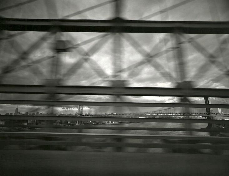 Mahattan Bridge, New York, 1973