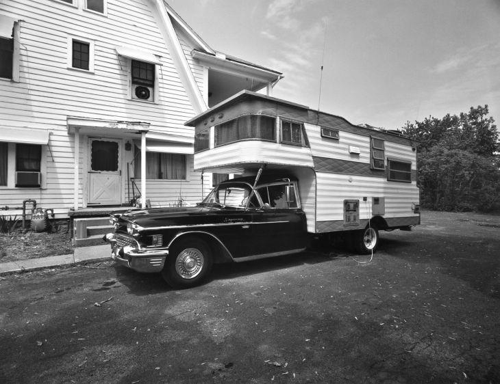 1958 Caddy Camper, Woodstock, NY, 1977