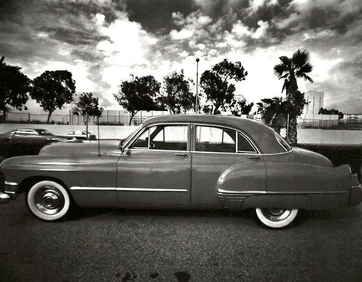 1949 Cadillac, Santa Monica, CA, 1977