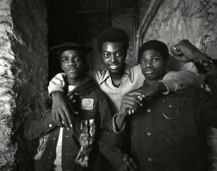 Youth gang, bronx, New York, 1972