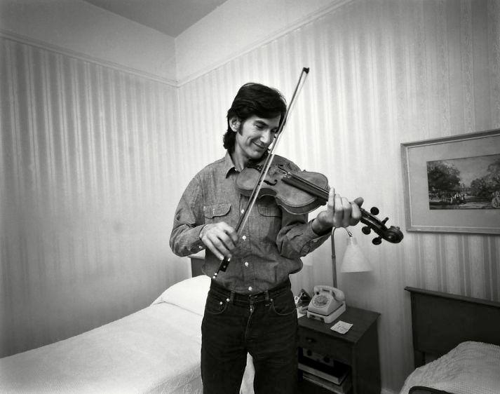 Townes Van Zandt, musician, New York, 1973