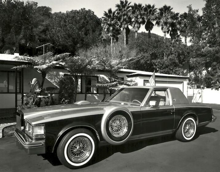 1984 Cadillac Seville, Beverly Hills, CA, 1985